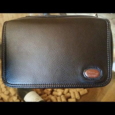 Túi da đựng phụ kiện xì gà  Wess Design
