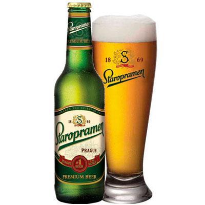 Bia Tiệp Staropramen chai xanh